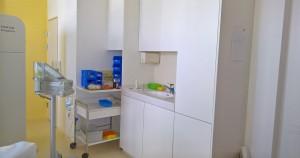 Einbauschränke für das Röntgeninstitut Aarau