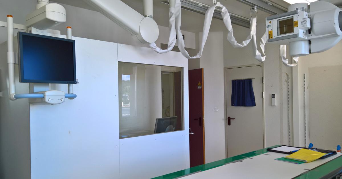 Innenwand - Röntgeninstitut Aarau