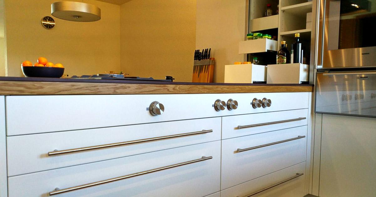 Küchenumbau - Küche nach Mass vom Schreiner