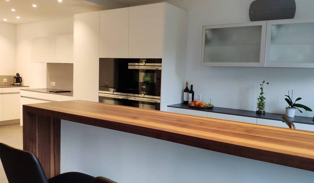 Wohnzimmer- und Küchenumbau inkl. Bauleitung