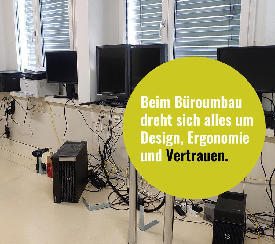 Büromöbel - Schreiner mit IT Knowhow
